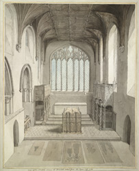 The Norfolk Chancel In Arundel Church